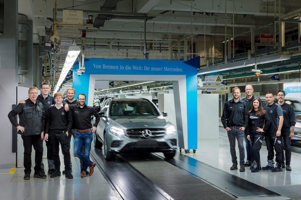"Mercedes-Benz feiert 8 Millionen Fahrzeuge ""Made in Bremen"""